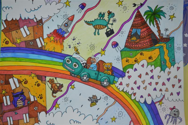 Мой сказочный мир рисунки детей конкурс
